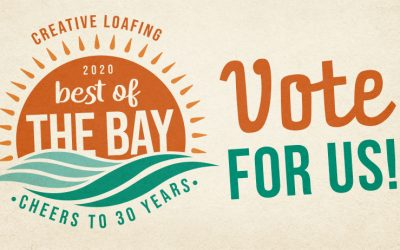 "Vote for the ""2020 Best of the Bay""!"